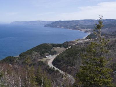 Cabot Trail, Cape Breton Highlands National Park, Cape Breton, Nova Scotia, Canada, North America