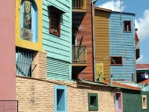 Caminito (Little Street), La Boca, Buenos Aires, Argentina, South America by Ethel Davies