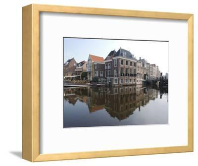 Canals at the Centre of the Old Town, Leiden, Netherlands, Europe