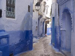 Chefchaouen, Near the Rif Mountains, Morocco, North Africa, Africa by Ethel Davies