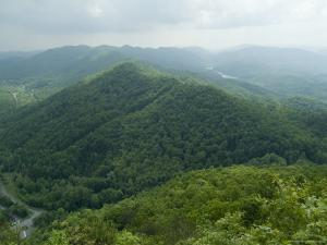 Cumberland Gap, Kentucky, USA by Ethel Davies