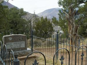 Doc Holliday's Grave, Glenwood Springs, Colorado, USA by Ethel Davies
