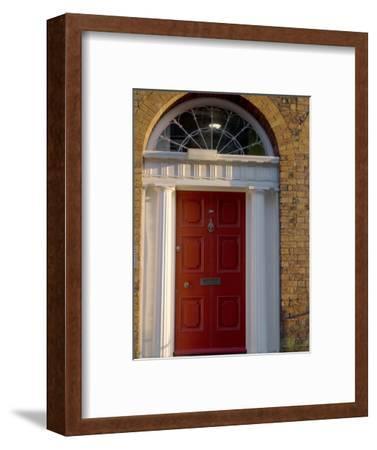 Doorway, Georgian District, Liverpool, Merseyside, England, United Kingdom, Europe