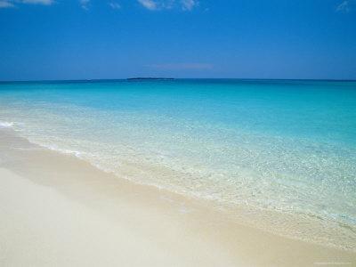 Empty Beach, Paradise Island, Bahamas