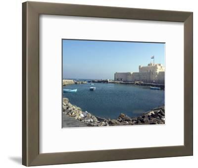 Fort and Harbour, Alexandria, Egypt, North Africa, Africa
