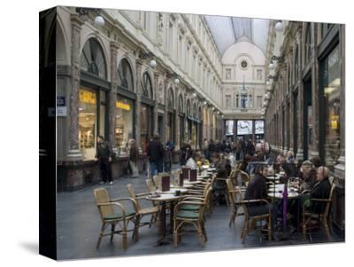 Galeries St-Hubert, Brussels, Belgium, Europe