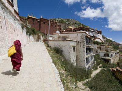 Ganden Monastery, Near Lhasa, Tibet, China
