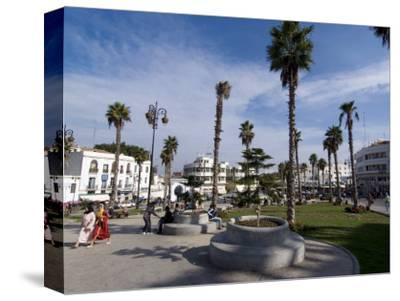 Grand Socco, Centre of Old City, Near the Medina, and Site of the Roman Forum, Tangiers, Morocco