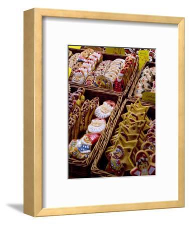 Handpainted Biscuits, Christkindelsmarkt (Christmas Market), Nuremberg, Bavaria, Germany