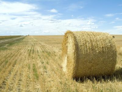 Haystacks, North Dakota, USA