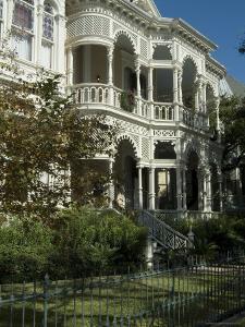 Historic District, Galveston, Texas, USA by Ethel Davies