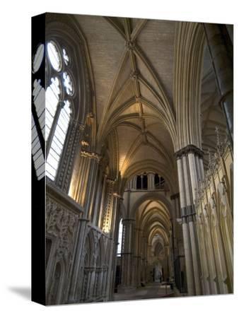 Interior, Lincoln Cathedral, Lincoln, Lincolnshire, England, United Kingdom