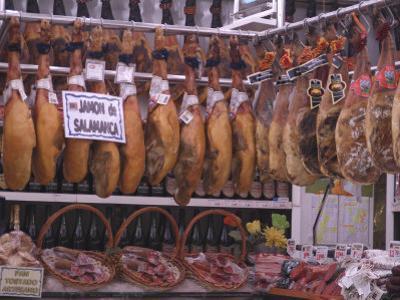 Jamon Shop, Barcelona, Catalonia, Spain