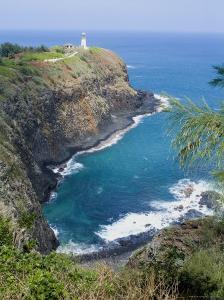 Kilauea Lighthouse, Kilauea Point, National Wildlife Refuge, Hawaii by Ethel Davies
