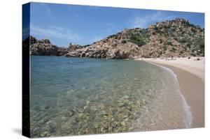 Li Cossi Beach at Costa Paradiso, Sardinia, Italy, Mediterranean by Ethel Davies