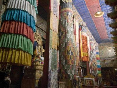 Main Prayer Hall, Samye Monastery, Tibet, China