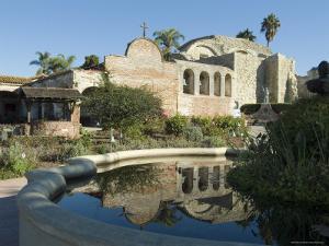 Mission San Jaun Capistrano, California, USA by Ethel Davies
