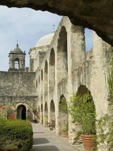 Mission San Jose, San Antonio, Texas, USA by Ethel Davies