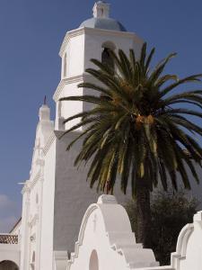Mission San Luis Rey, California, USA by Ethel Davies