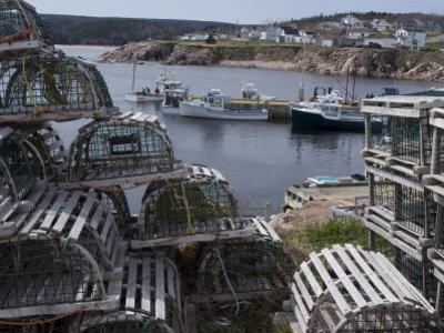 Neil's Harbour, Cape Breton, Nova Scotia, Canada, North America by Ethel Davies