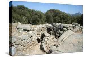 Nuraghe Albucciu, Dating from 1600 Bc, Near Arzachena, Sardinia, Italy by Ethel Davies