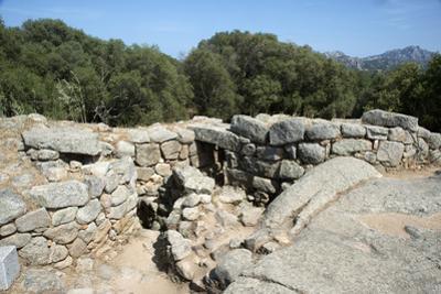 Nuraghe Albucciu, Dating from 1600 Bc, Near Arzachena, Sardinia, Italy