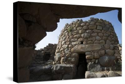 Nuraghe La Prisgiona Archaeological Site, Dating from 1300 Bc, Near Arzachena, Sardinia, Italy