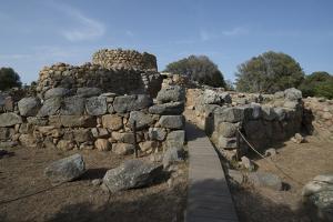 Nuraghe La Prisgiona Archaeological Site, Dating from 1300 Bc, Near Arzachena, Sardinia, Italy by Ethel Davies