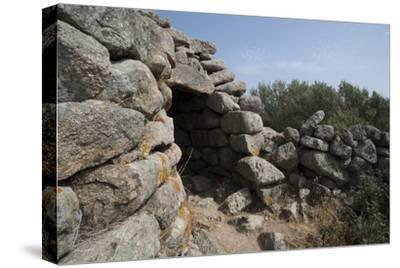 Nuraghe Tuttusoni, One of the Nuraghic Ruins in the Province of Gallura, Sardinia, Italy