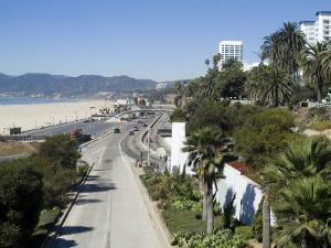 Pacific Coast Highway, Santa Monica, California, USA by Ethel Davies
