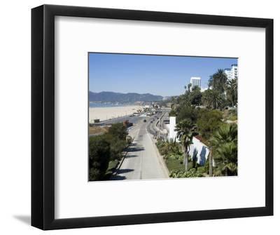 Pacific Coast Highway, Santa Monica, California, USA