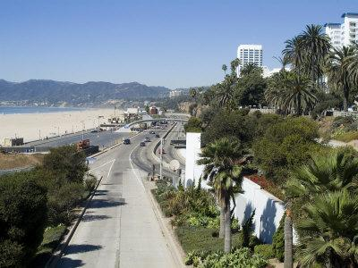 Pacific Coast Highway, Santa Monica, California, USA