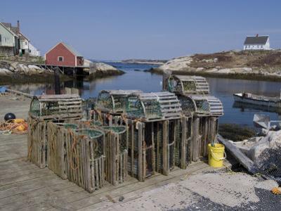 Peggy's Cove, Nova Scotia, Canada, North America by Ethel Davies