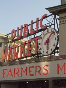 Pikes Market, Seattle, Washington State, USA by Ethel Davies