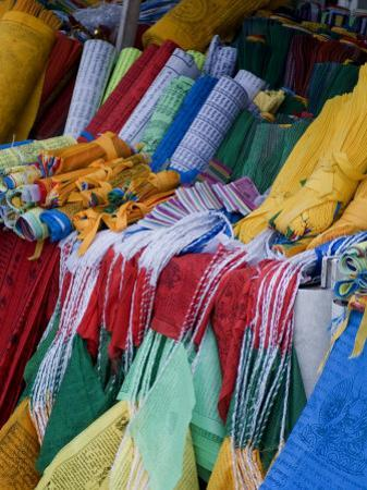 Prayer Flags, Barkhor, Lhasa, Tibet, China