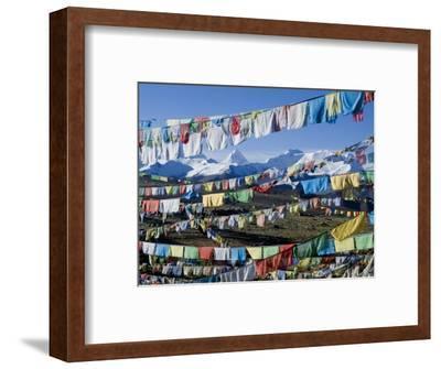 Prayer Flags, Himalayas, Tibet, China