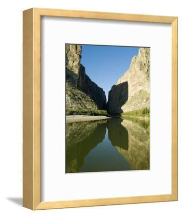 Rio Grande River, Santa Elena Canyon, Big Bend National Park, Texas, USA