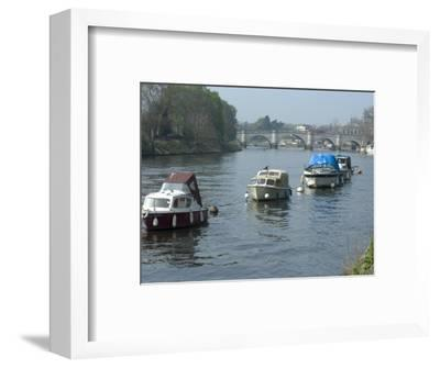 River Thames at Richmond, Surrey, England, United Kingdom, Europe