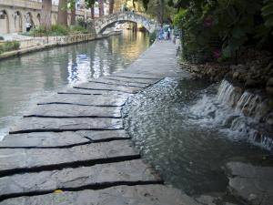 Riverwalk, San Antonio, Texas, USA by Ethel Davies