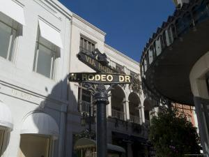 Rodeo Drive, Beverly Hills, California, USA by Ethel Davies