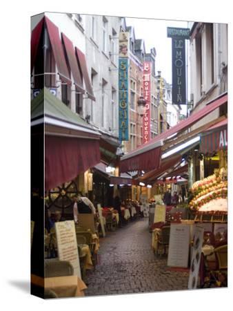 Rue Des Bouchers, Near Grand Place, Brussels, Belgium, Europe
