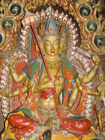 Sculpture, Kumbum, Gyantse, Tibet, China