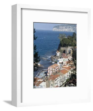 Seaside Town of Sorrento, Near Naples, Campania, Italy, Mediterranean, Europe