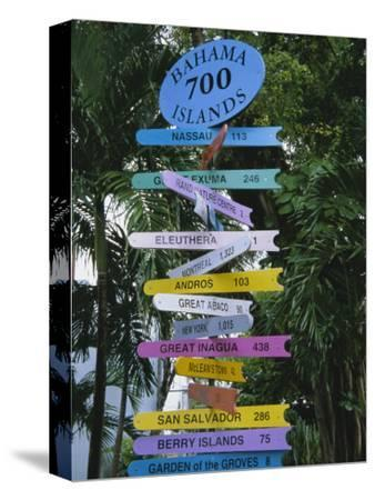Signpost, Freeport, Grand Bahama, Bahamas, Central America