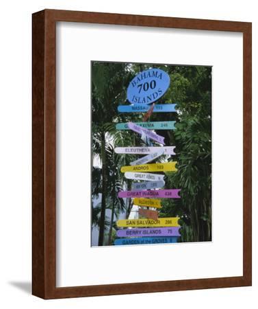 Signpost, Freeport, Grand Bahama, Bahamas, Central America
