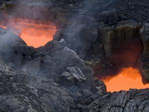Skylight, Kilauea Volcano, Island of Hawaii (Big Island' by Ethel Davies