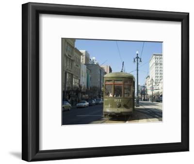 St. Charles Streetcar, New Orleans, Louisiana, USA