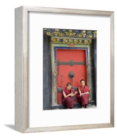 Tashilumpo Monastery, the Residence of the Chinese Appointed Panchat Lama, Tibet, China
