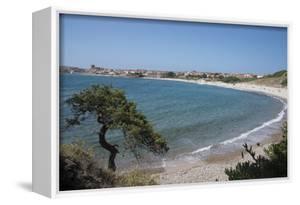 The Fishing Village, Resort and Beach of Isola Rossa, Sardinia, Italy, Mediterranean by Ethel Davies