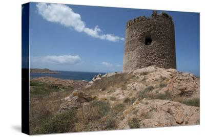The Torre Aragonese, a Spanish Tower Dating from the Year Ad500, Isola Rossa